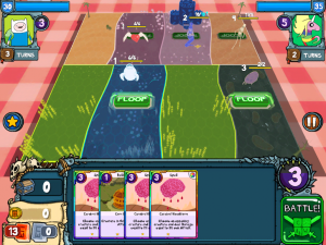 We Review The Adventure Time Card Wars Game App For Ios Game App Adventure Time Adventure