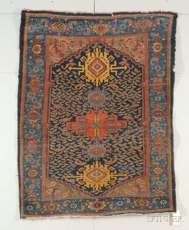 Northwest Persian Rug, early 20th century,  5 ft. 5 in. x 4 ft. 3 in.