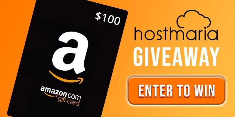 100 Amazon Gift Card Hostmaria October Giveaway Giveaway Win Amazon Gift Cards Amazon Gifts Win Gift Card