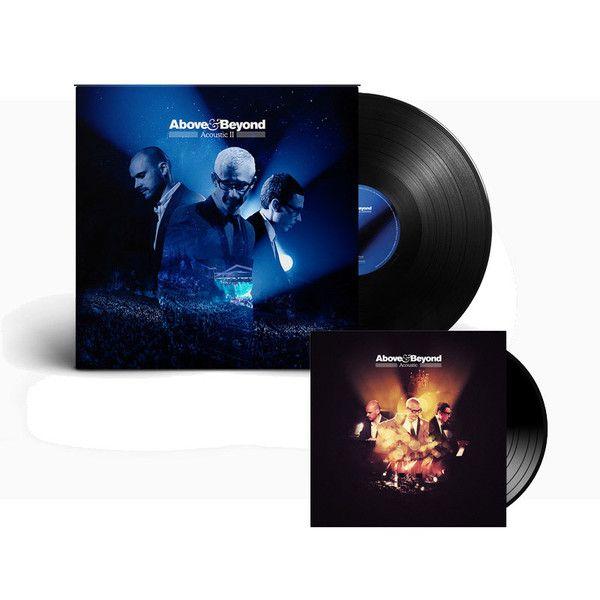 Above Beyond Acoustic Ii Merchandise Acoustic I Acoustic Ii Vinyl Pre Order Vinyl Record 12 Preord Acoustic Music Labels Above Beyond