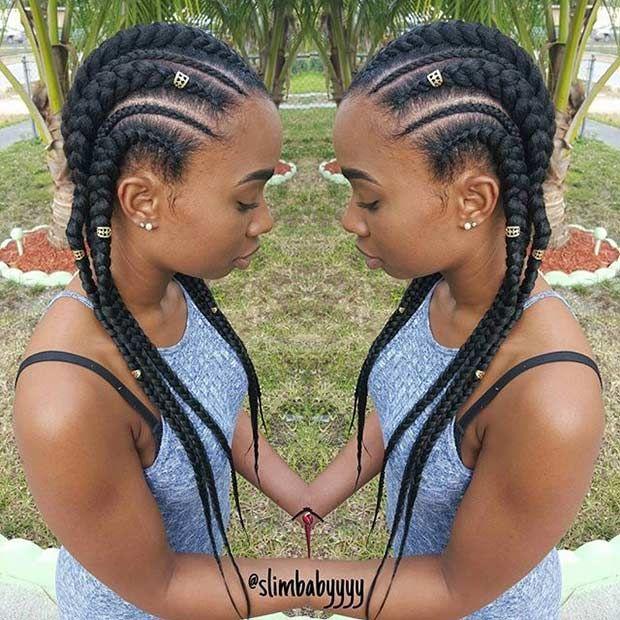 51 Best Ghana Braids Hairstyles Cool Braid Hairstyles Hair