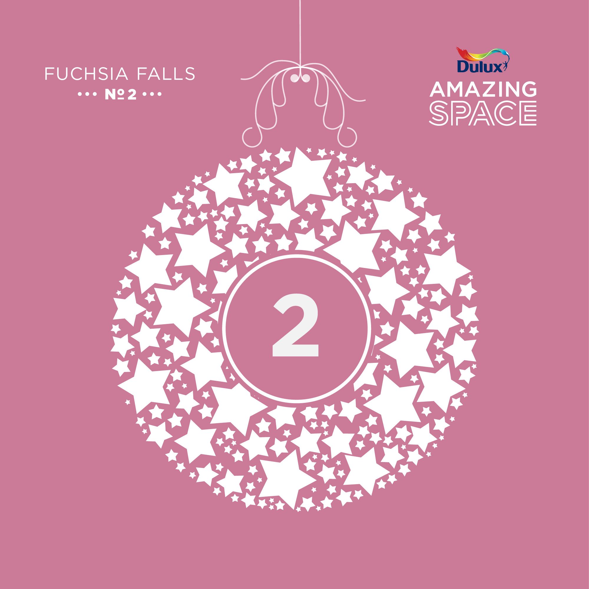 Colourful Christmas Countdown: Create Your Own Christmas Drama With a Feature Wall…