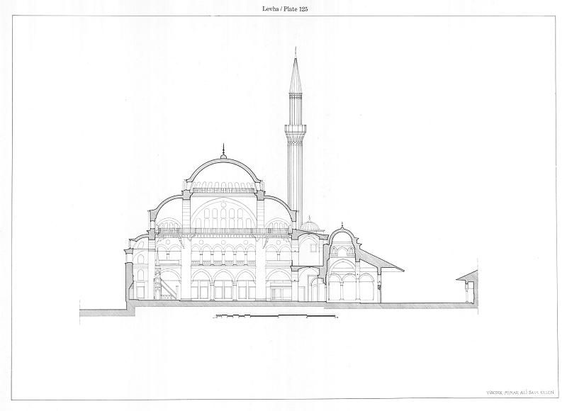 Pin By Nazmi Kisioglu On Cami Cizimleri The Mosque Drawings Ceiling Lights Pendant Light Architecture