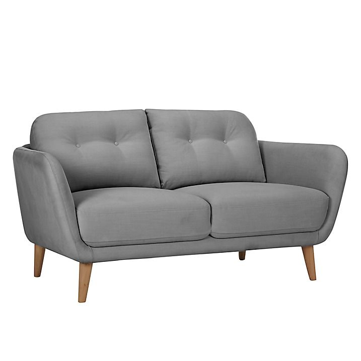 House By John Lewis Arlo Small 2 Seater Sofa Light Leg Small Sofa 2 Seater Sofa Sofa