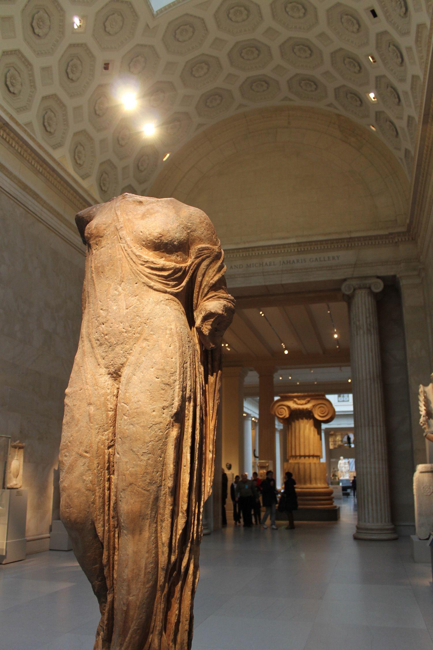 View Of Metropolitan Museum Art Sculpture Hall #