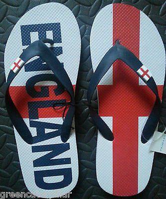 Primark Union Jack Flip Flops Boy/'s UK Flag Sandals Thongs kids UK Sizes 6-11