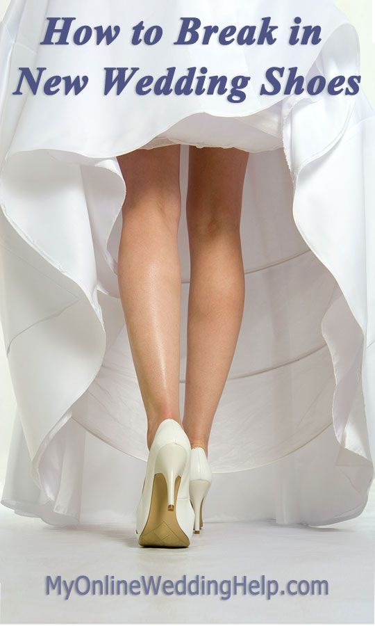 ea10d6b33bb Tips for breaking in new wedding shoes the safe way and thoughts on breaking  in shoes with a hair dryer