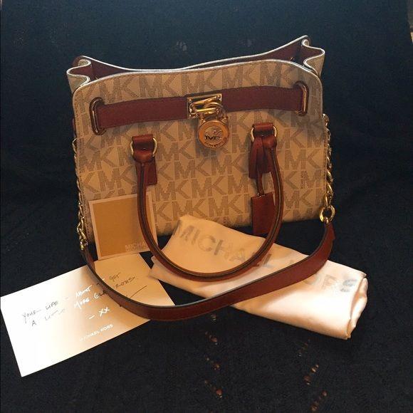 Spotted while shopping on Poshmark  flash sale! Michael Kors Hamilton Bag!   poshmark  fashion  shopping  style  Michael Kors  Handbags 0096b493cb
