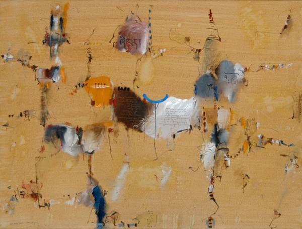 24. Mai 2006  öl, kreide, farbstift auf leinwand  60 x 80 cm Wolfgang Mussgnug