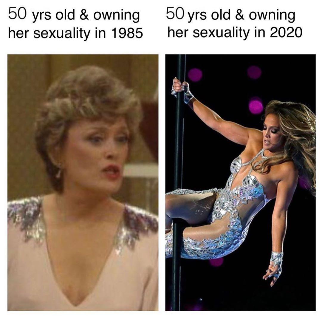 Jlo Shakira S 2020 Superbowl Pole Dance Media Uproar A Pole Dance Studio S Celebration Funny Tweets Stupid Memes Memes