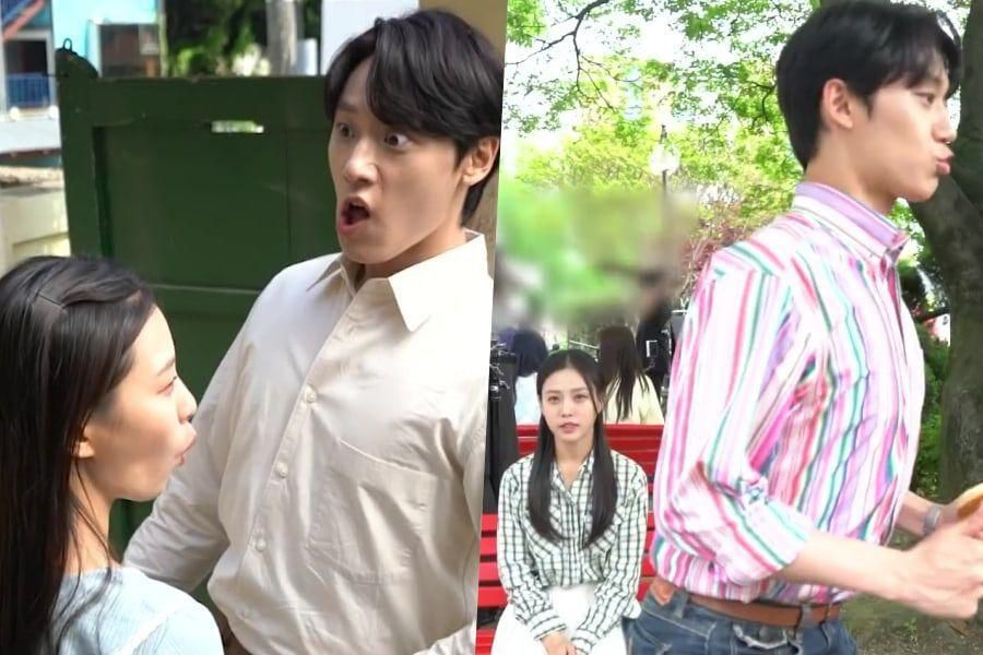 """Watch: Go Min Si And Lee Do Hyun Are A Hilarious Comedic Duo Behind The Scenes Of """"Youth Of May"""""""