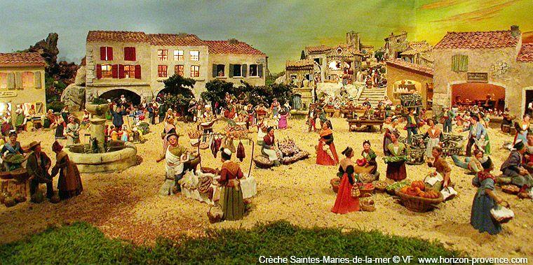 Assez Crèche Saintes-Maries-de-la-mer | Noël, Saints, Fêtes | Pinterest  CL31