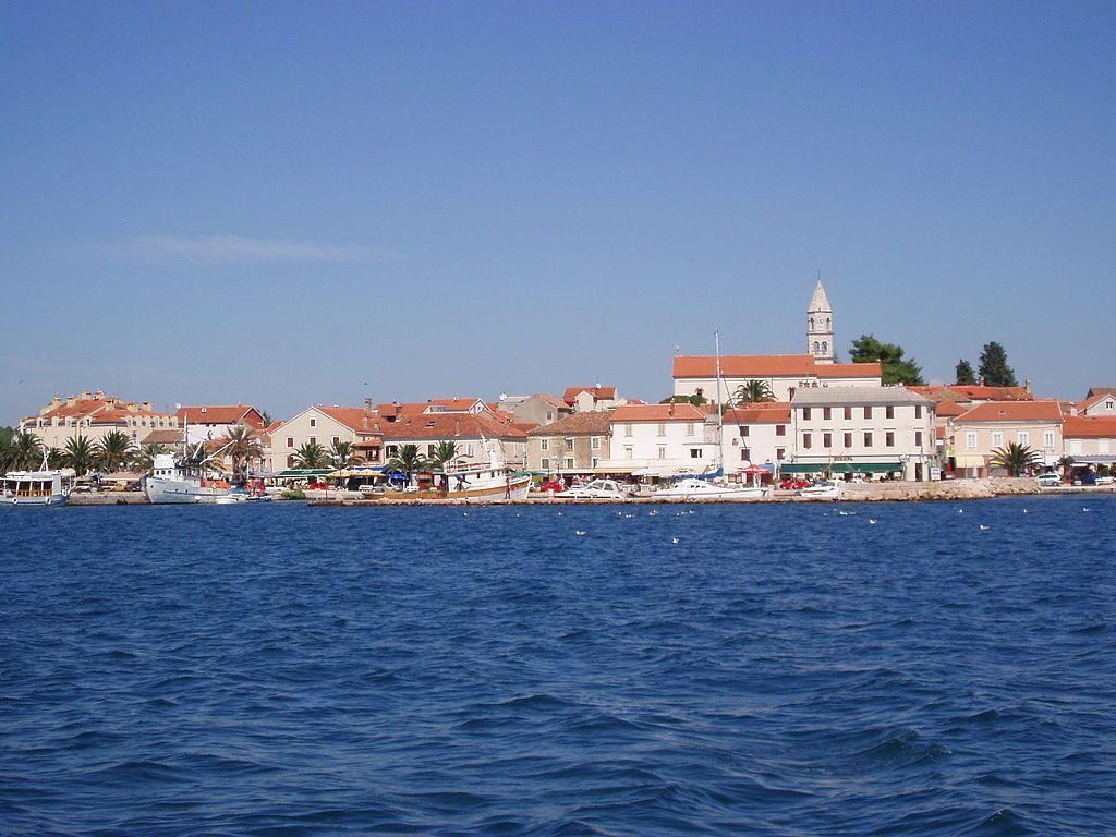 View Of Biograd Na Moru Biograd Na Moru Croatian Pronunciation Bioɡraːd Na Moːru Or Biǒɡrad Is A City In Nor Croatia Beach Croatia Beaches In The World
