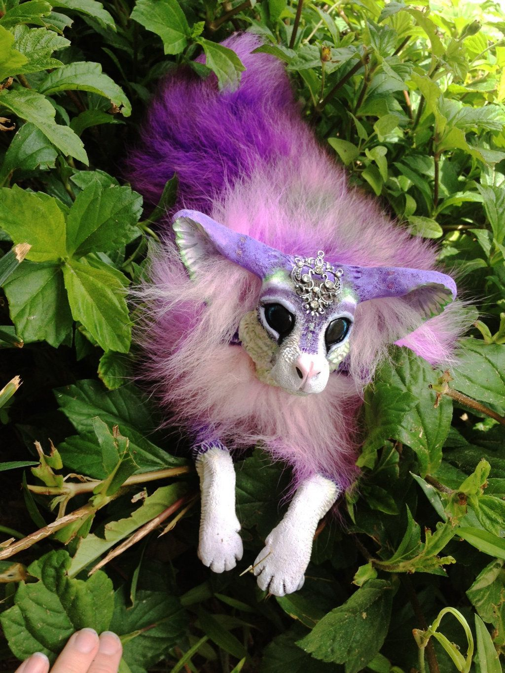 Baby inari fox for sale - Sold Poseable Hand Made Moondust Bear By Wood Splitter Lee On Baby Foxeshandmade
