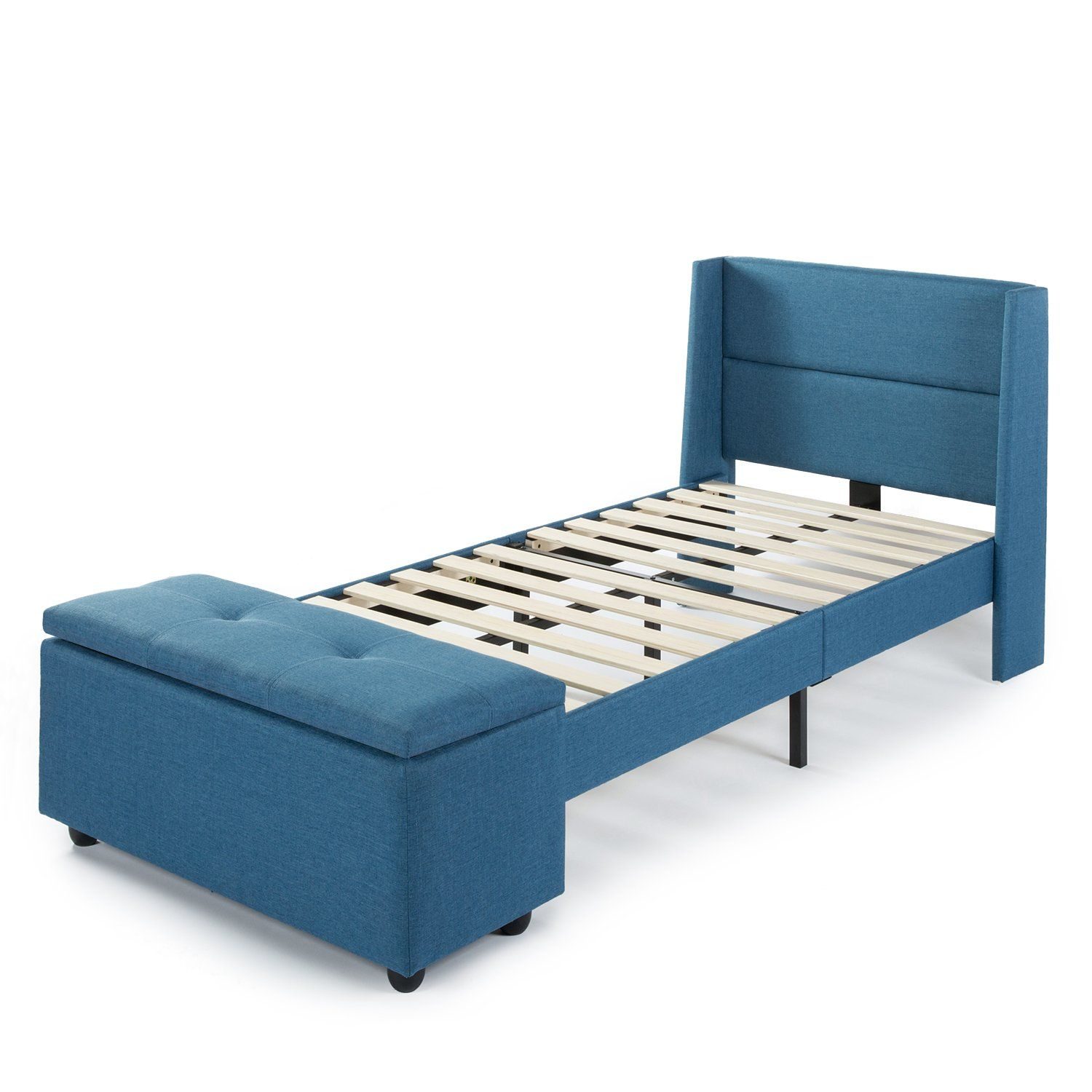 Best Price Mattress Twin Bed Frame Modern Upholstered 400 x 300