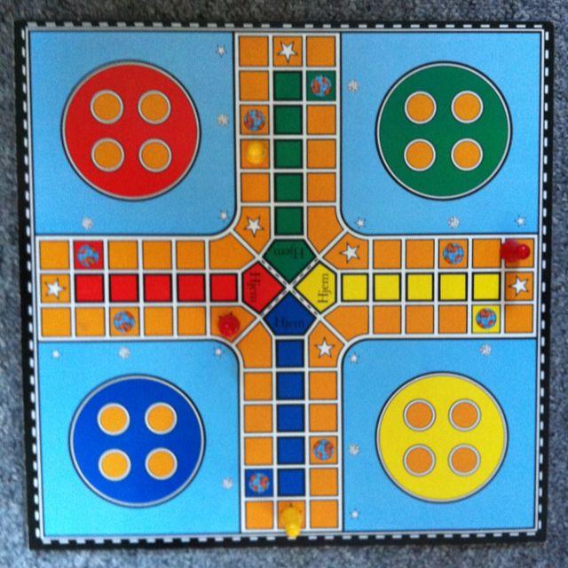 Coloured Game Of Ludo