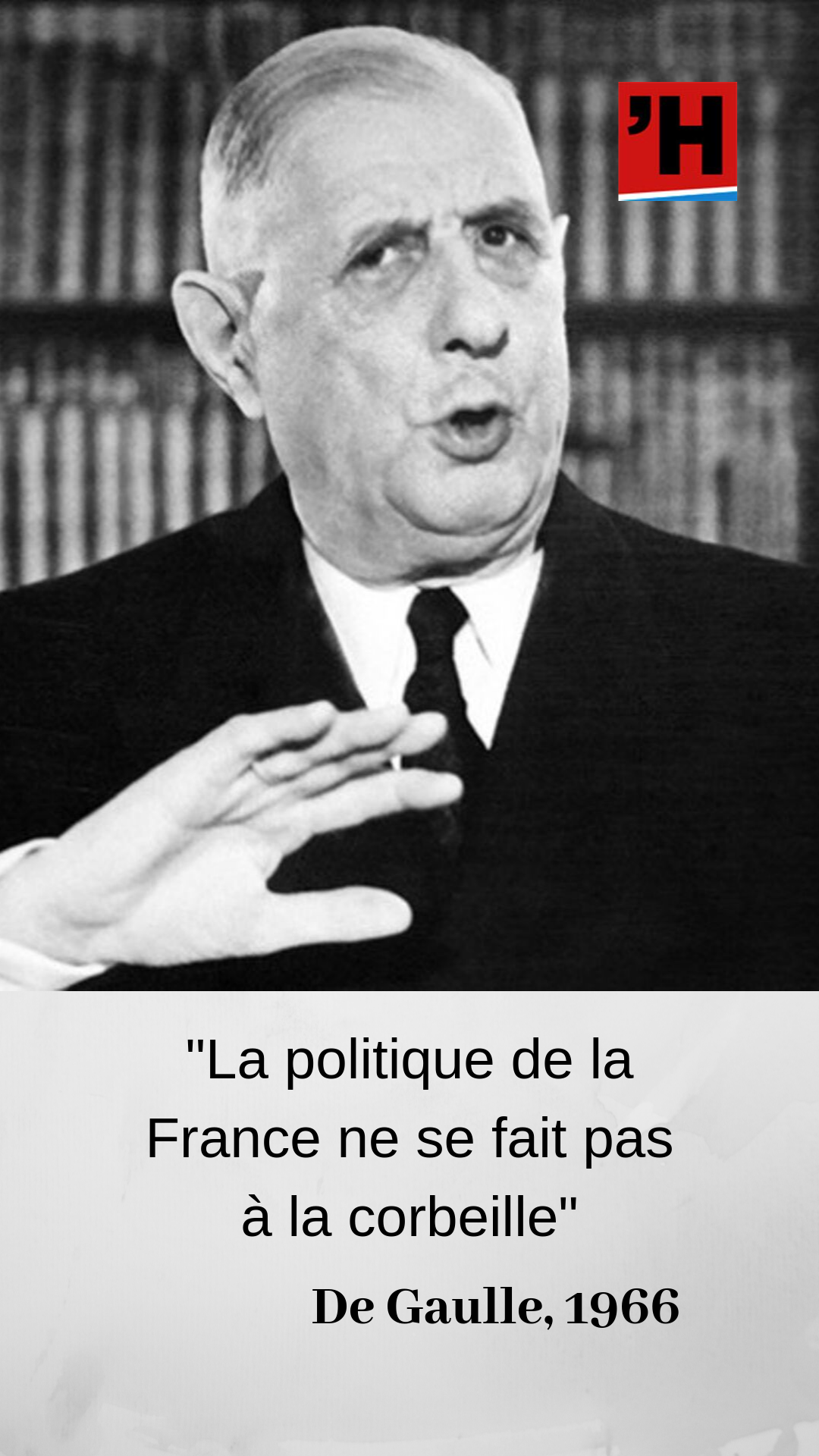 Epingle Sur De Gaulle En Citations