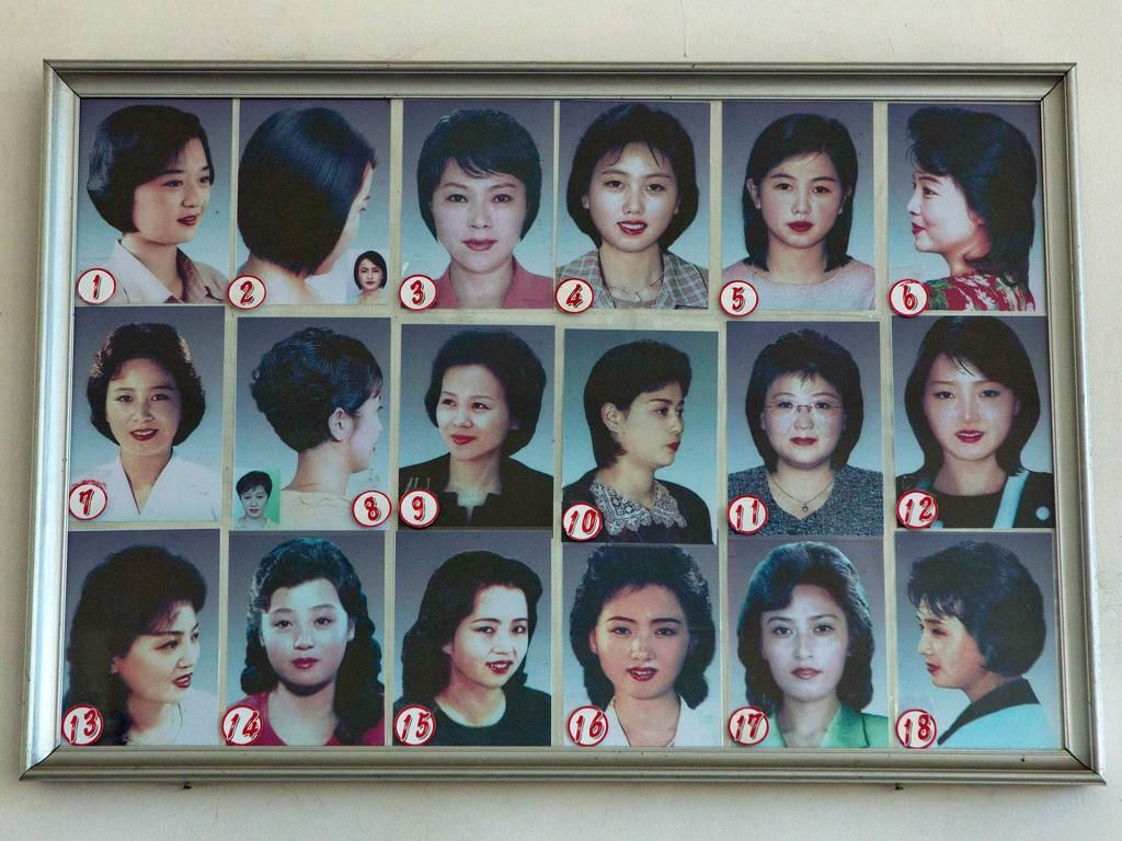 north korea's 18 state sanctioned female hairstyles | the