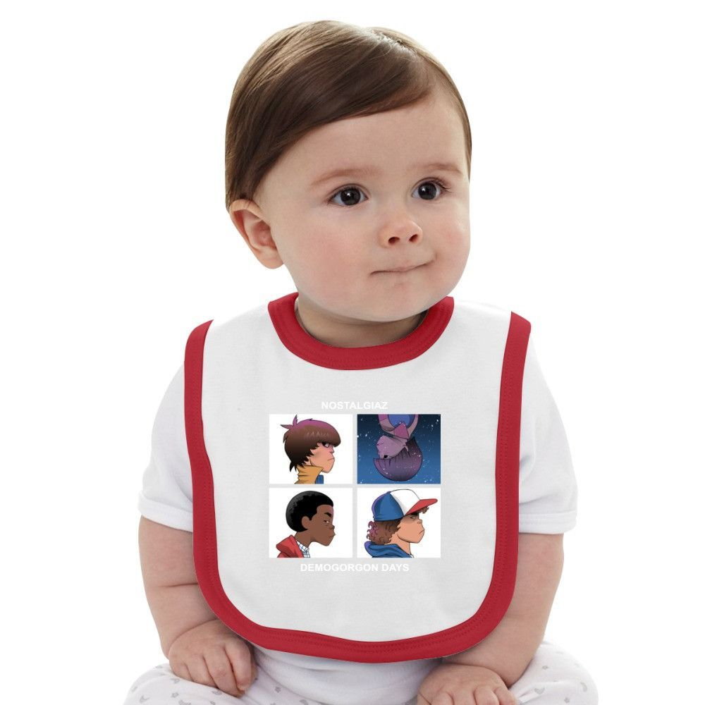 Stranger Things Demogorgon Days Baby Bib