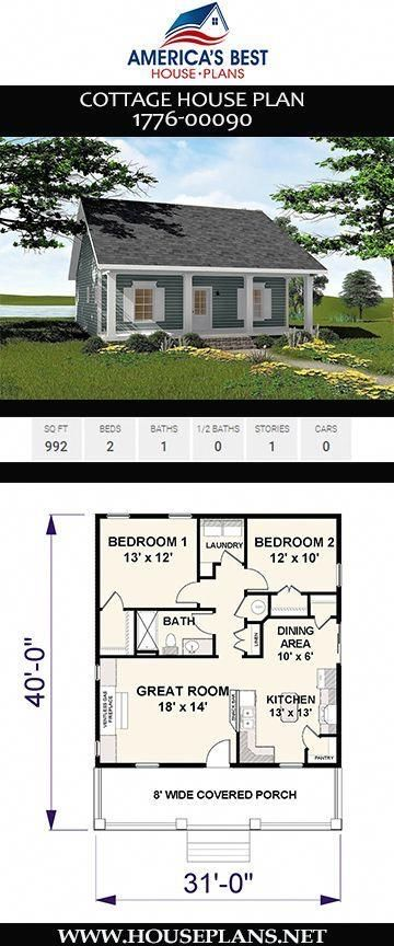 Pin By Ladene Smith On Home Decor Ideas Small Cottage House Plans Cottage Plan Little House Plans