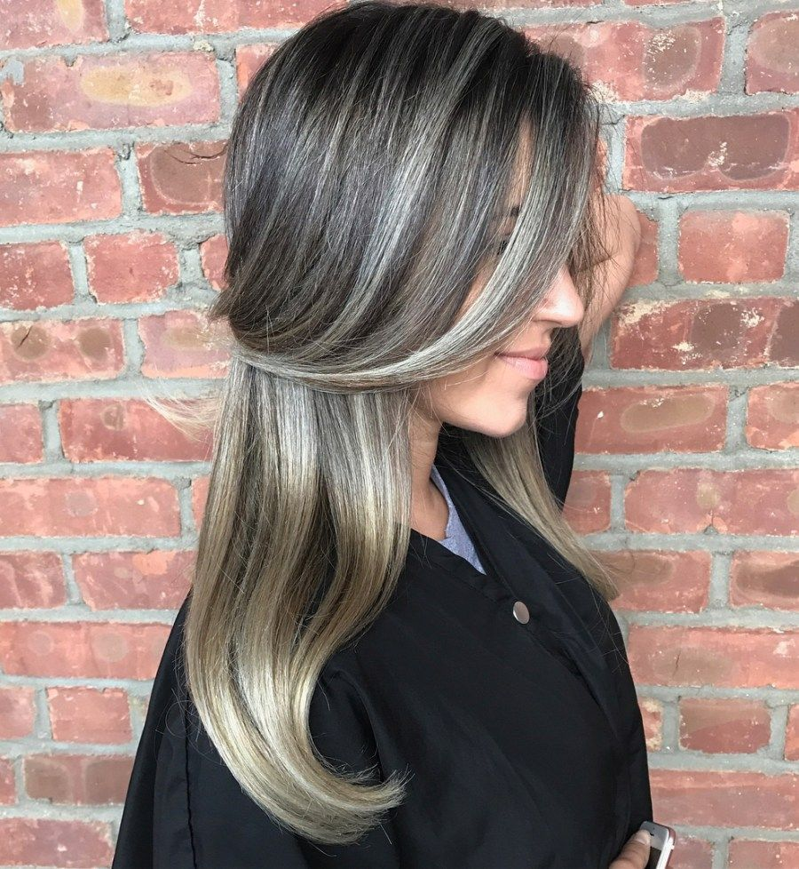 45 shades of grey silver and white highlights for eternal youth hair pinterest. Black Bedroom Furniture Sets. Home Design Ideas