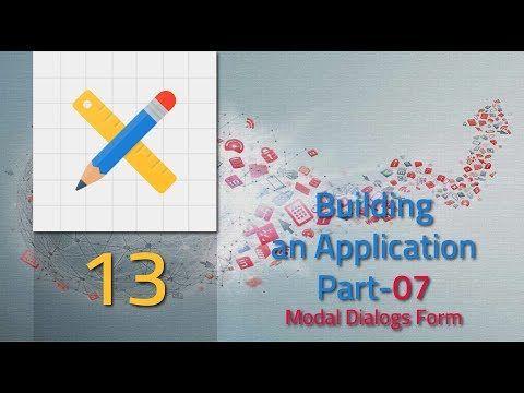 Oracle Apex 5 1 Tutorial 013 Building an Application part 07 Modal
