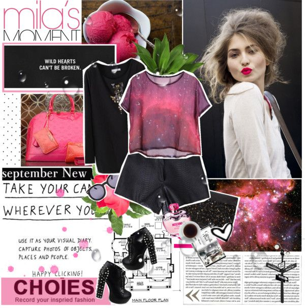 """Pink Magic ( Visit Choies )"" by anelalovenathan ❤ liked on Polyvore"