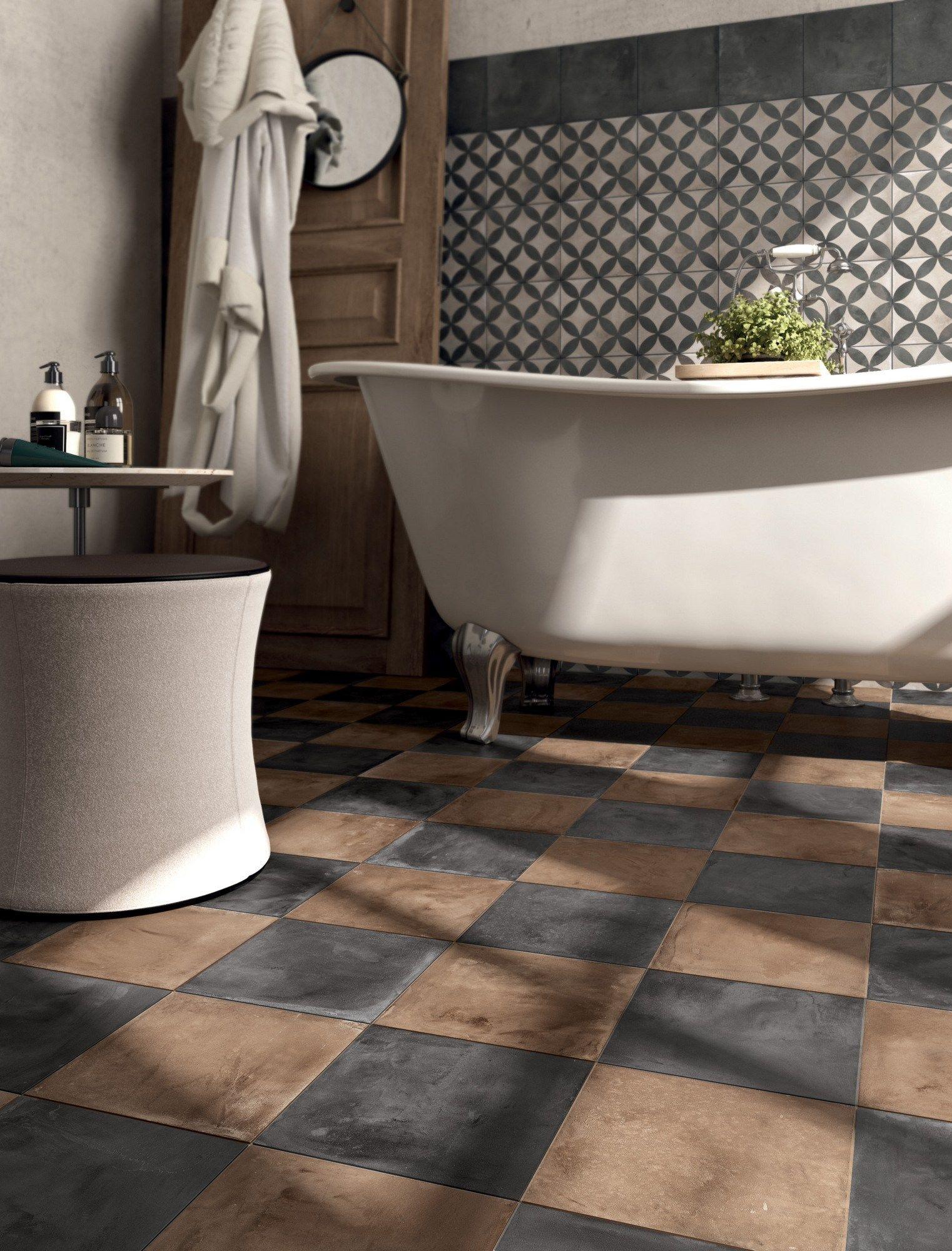 Full-body porcelain stoneware wall/floor tiles TERRA ...