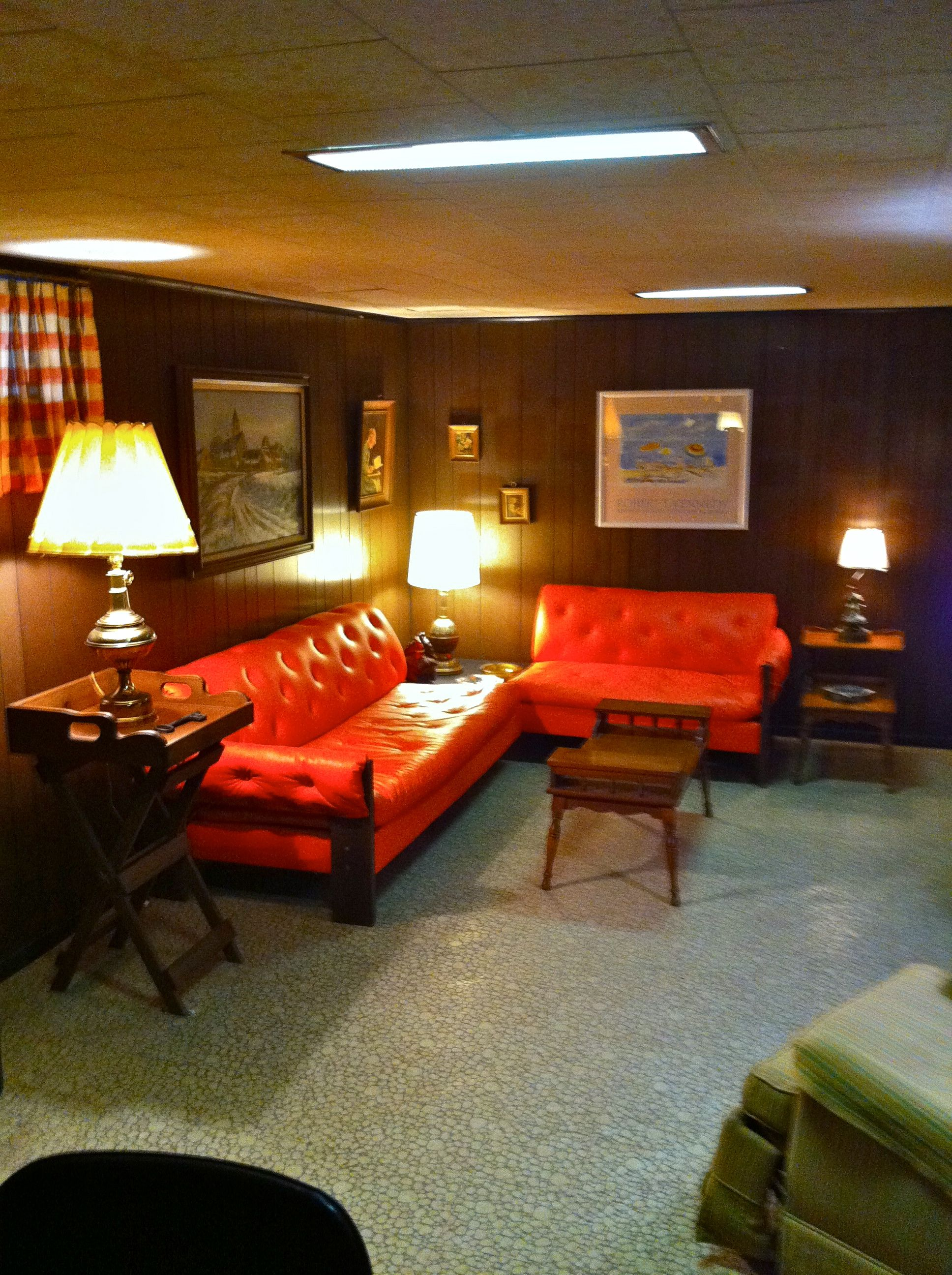 "Rumpus Room Designs: My ""rumpus Room"" In My Childhood Room...fantastic! #decor"