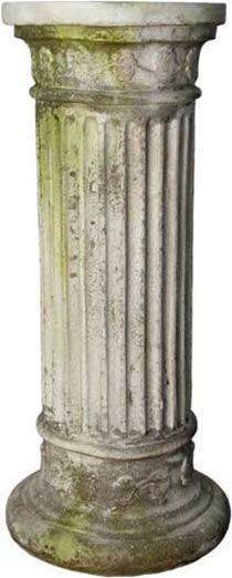 Leticia Pedestal Column for Outdoor Garden Use available at