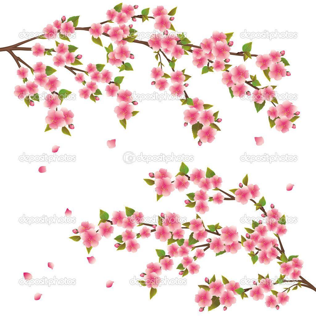 sakura with leaf - Buscar con Google