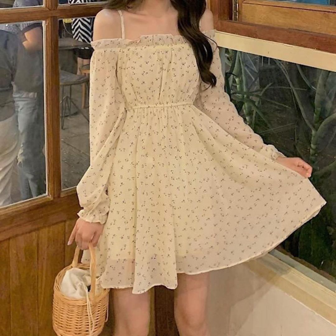 Girly Casual Clothing Inspire Stylish Birthday 2021 Cute Japanese Shopping Tiktok Highschool Trendy Party Dresses Party Dresses For Women Fashion