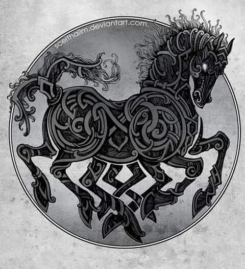c100fb53da4a Sleipner | Norse Religion, Legends, and Folklore | Viking tattoos ...