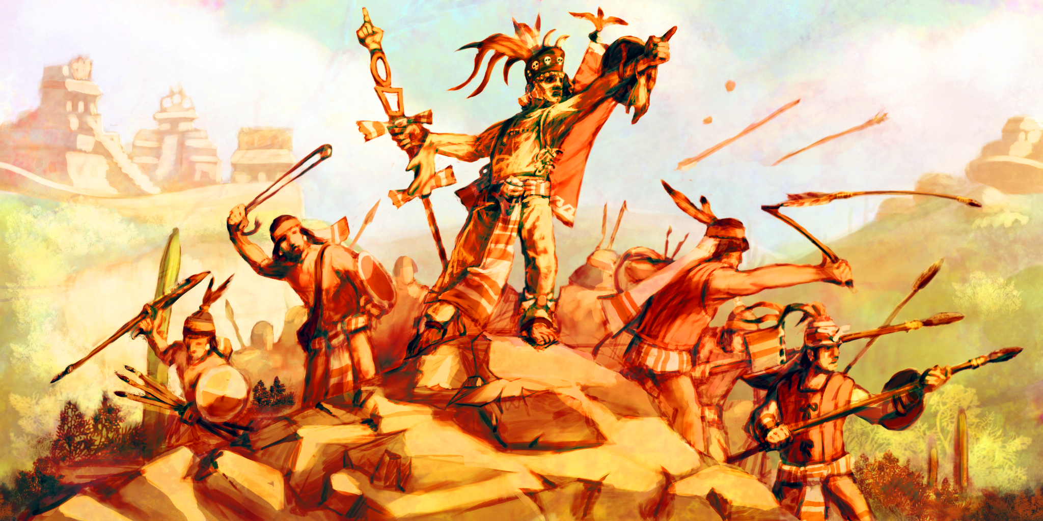 spanish aztec war Conquest of the aztec empire part ii foul play and blatant lies  the first spanish immersion in war was favourable for cortez,.