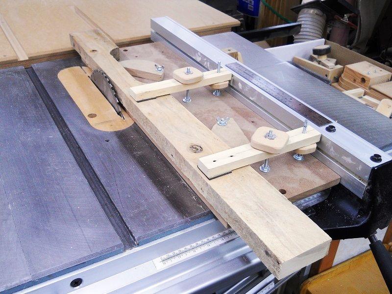 table saw cove cutting jig gabarit pour moulures concaves au banc de scie atelier. Black Bedroom Furniture Sets. Home Design Ideas