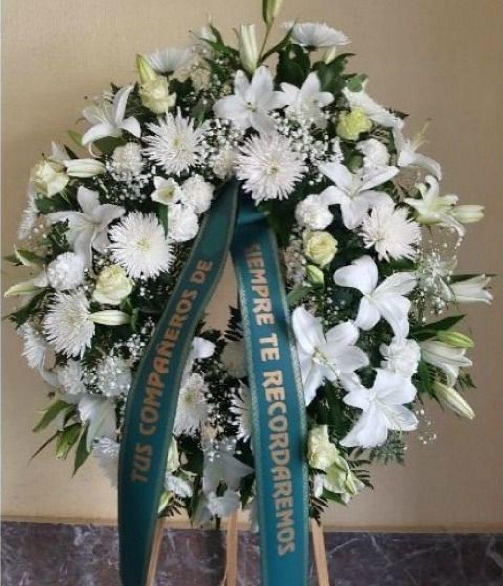 Corona Funeraria Madrid Arreglos Florales Funeral