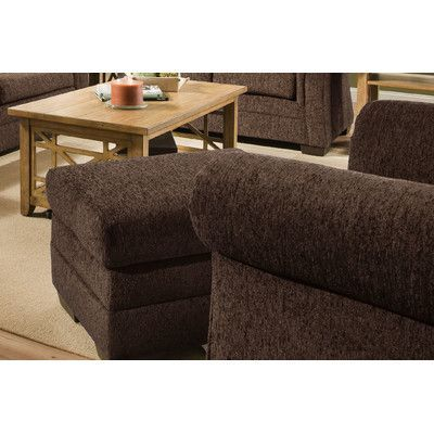 Alcott Hill Simmons Upholstery Balcones Arm Chair Color: Brown