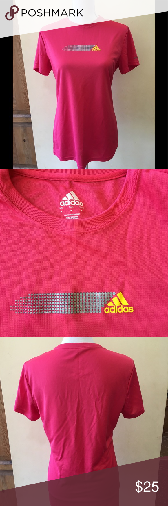 Adidas Active 360 Shirt Adidas Hot pink ladies' Active 360