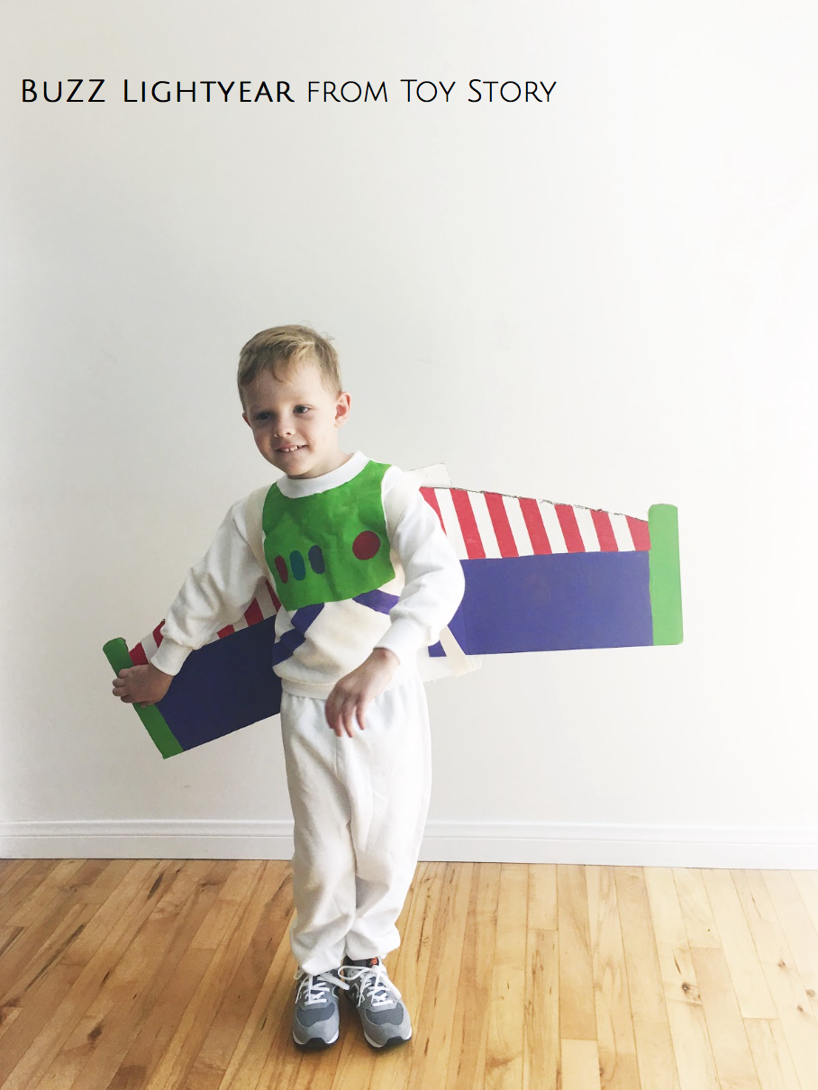 Buzz Lightyear from Toy Story Homemade Halloween The Girls With ...