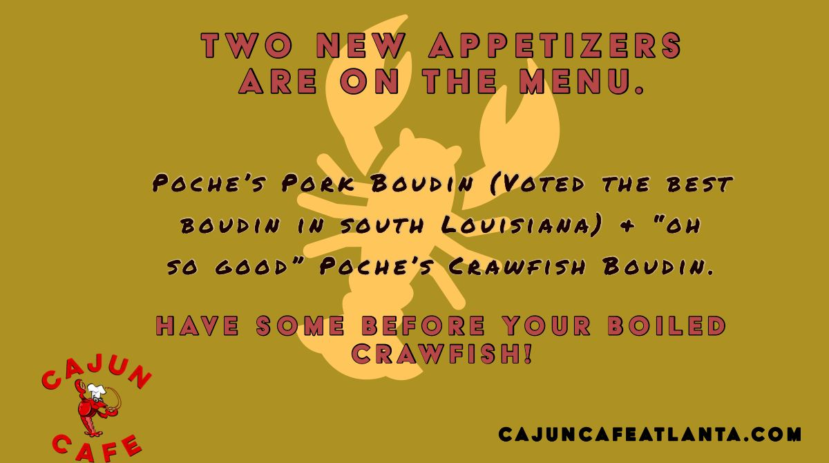 The crawfish are perfect so pass on by and get some fresh