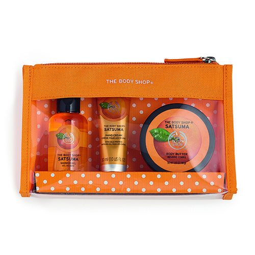 Christmas Gift Sets Body Shop.Satsuma Beauty Bag Gift Set The Body Shop Gifts For Me