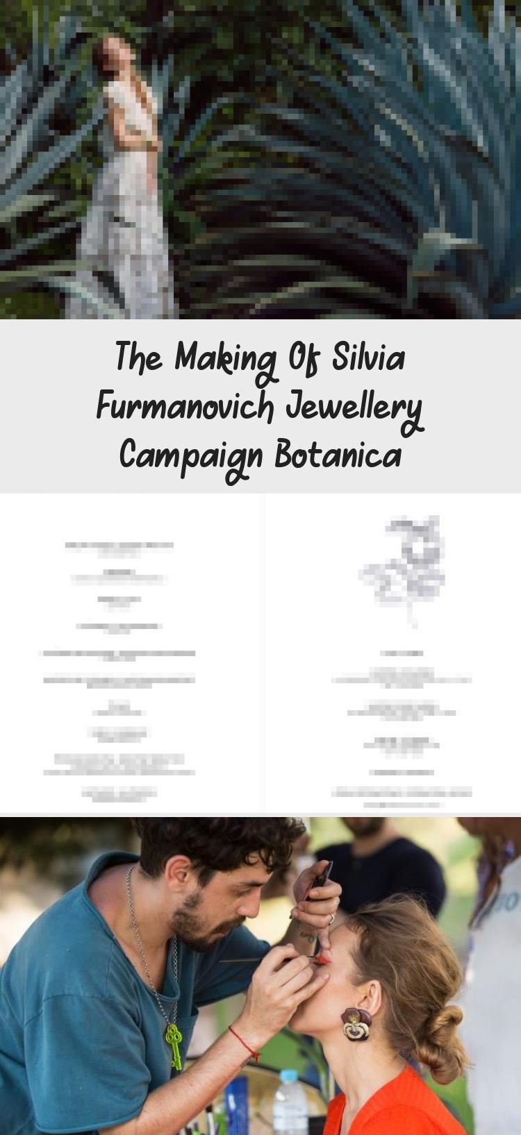 Photo of Me as a model for Silvia Furmanovich fine jewelry photography campaign. This is …