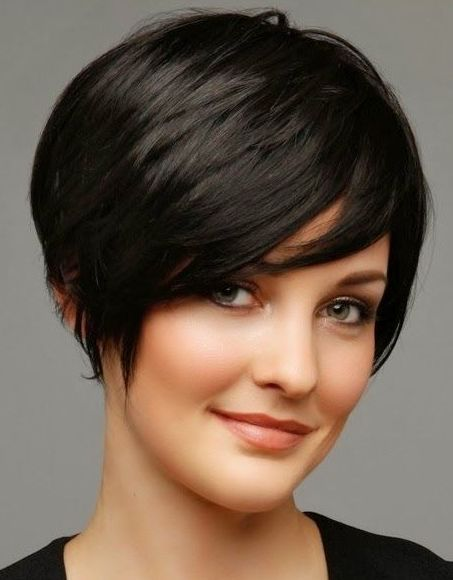 Short Haircuts For Round Faces And Thick Wavy Hair Jpeg Short Hair Styles 2014 Hair Styles 2014 Hair Styles