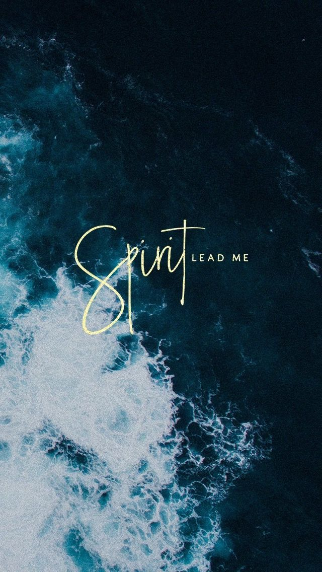 Spirit Lead Me Quote Of The Day Faith God Bible Quotes