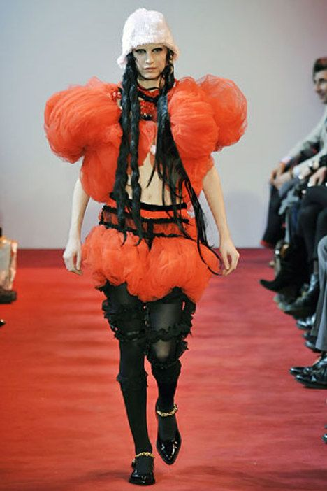 See the complete Comme des Garçons Fall 2008 Ready-to-Wear collection.