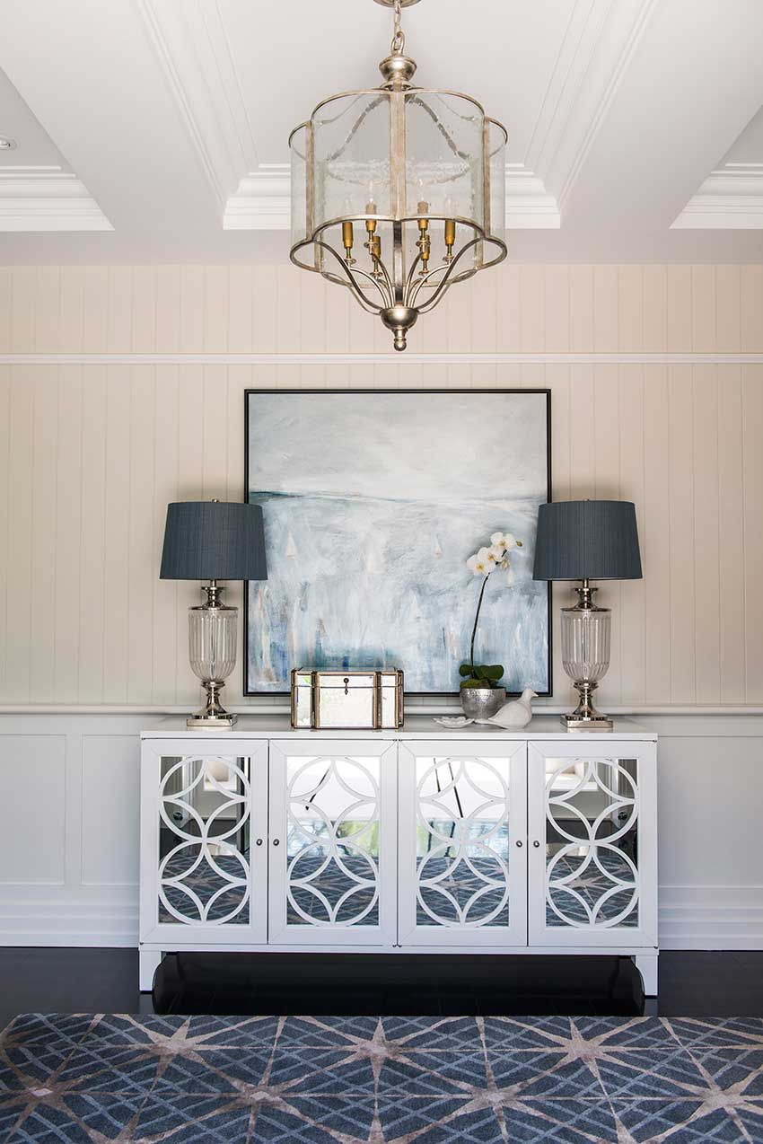 Modern Cape Cod Style Meets Queensland Home Entry Ways Cabinets And House Color Palettes