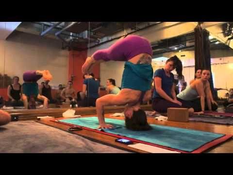 yoga tips with christina sell  dandasana in sirsasana 2