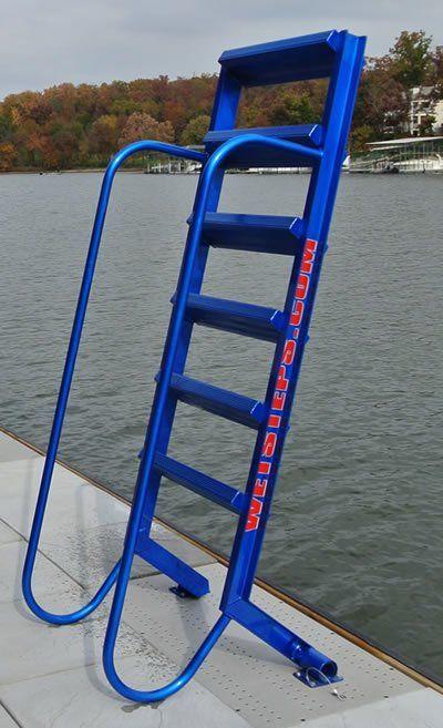 5 Step Wet Steps Dock Ladders Dock Stairs Pinterest