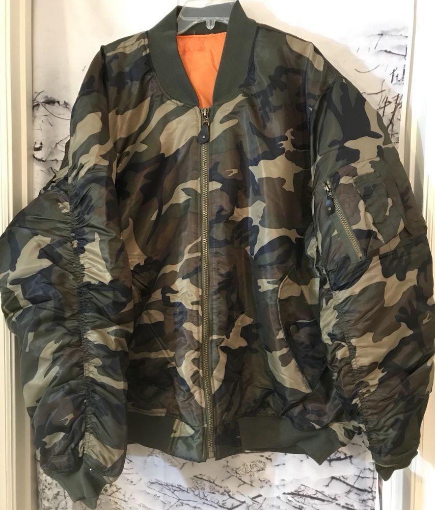baa6a421411 Jordan Craig Camo Insulated Winter Jacket Mens 4XL New #JordanCraig #Puffer