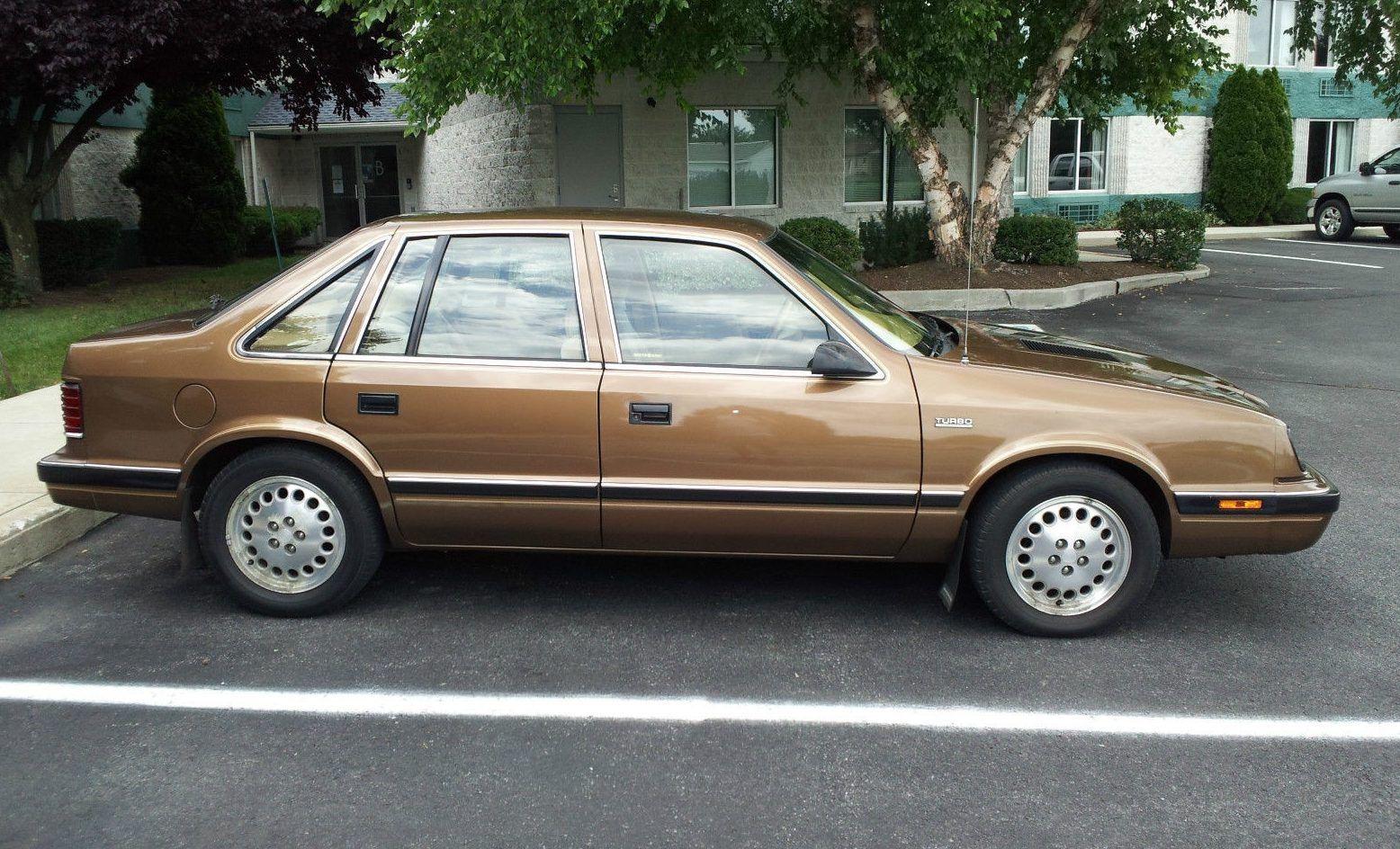 Grandma Owned 1986 Chrysler LeBaron GTS Barn Finds